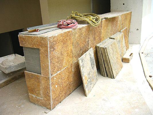 Samaca techos cubierta piedra morisca recubrimientos for Tipos de piedras para paredes exteriores